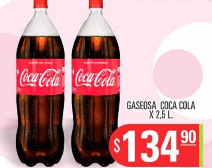 Supermercados Caracol Gaseosa Coca Cola X 2.5 L