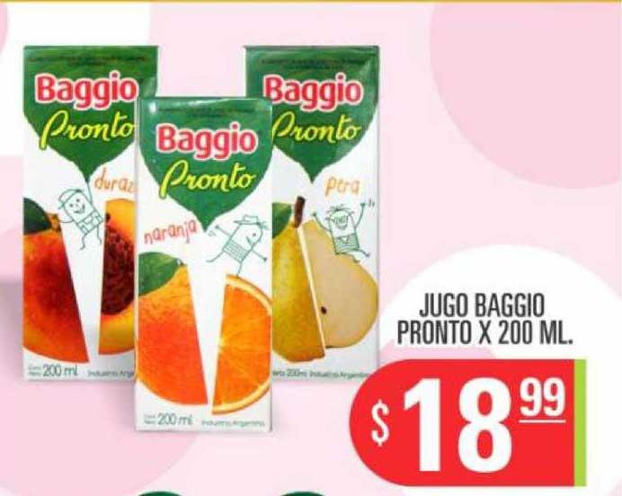 Supermercados Caracol Jugo Baggio Pronto X 200 ML