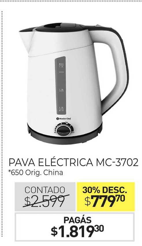 La Anónima Pava Eléctrica MC-3702