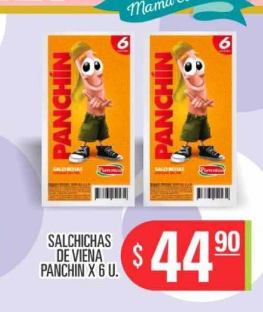 Supermercados Caracol Salchichas De Viena Panchin X 6 U