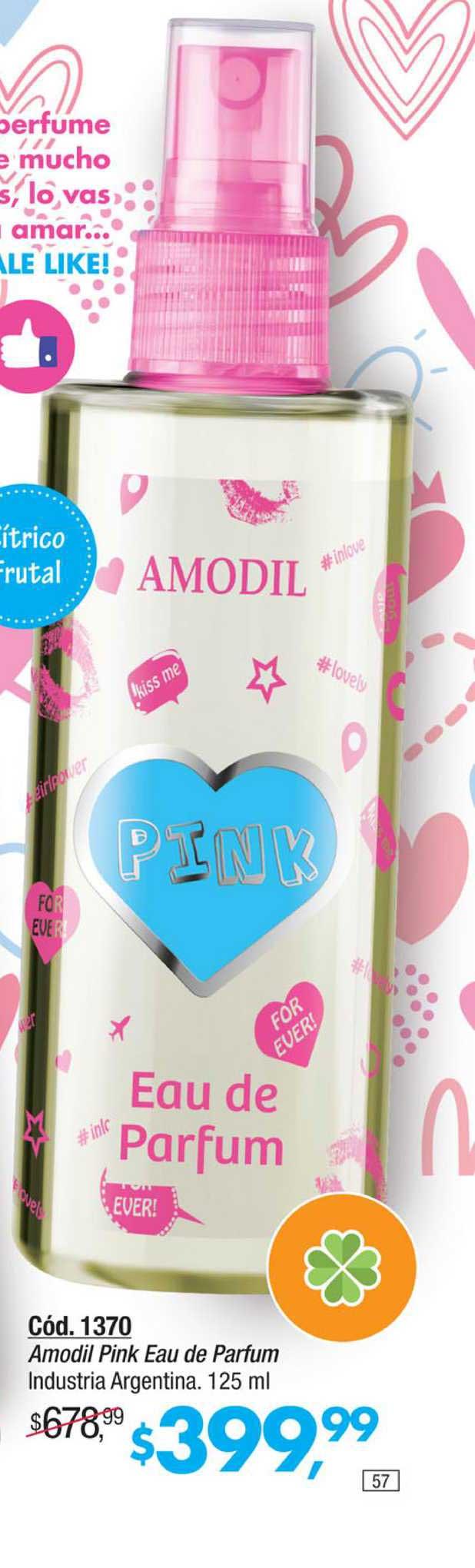 Amodil Amodil Pink Eau De Parfum