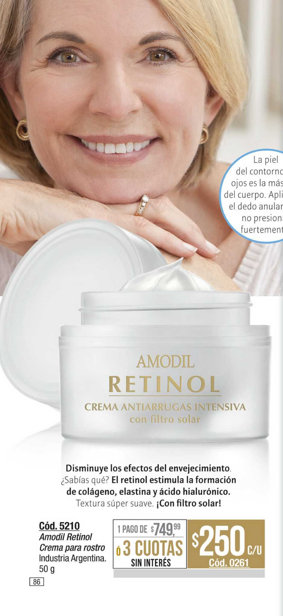 Amodil Amodil Retinol Crema Para Rostro