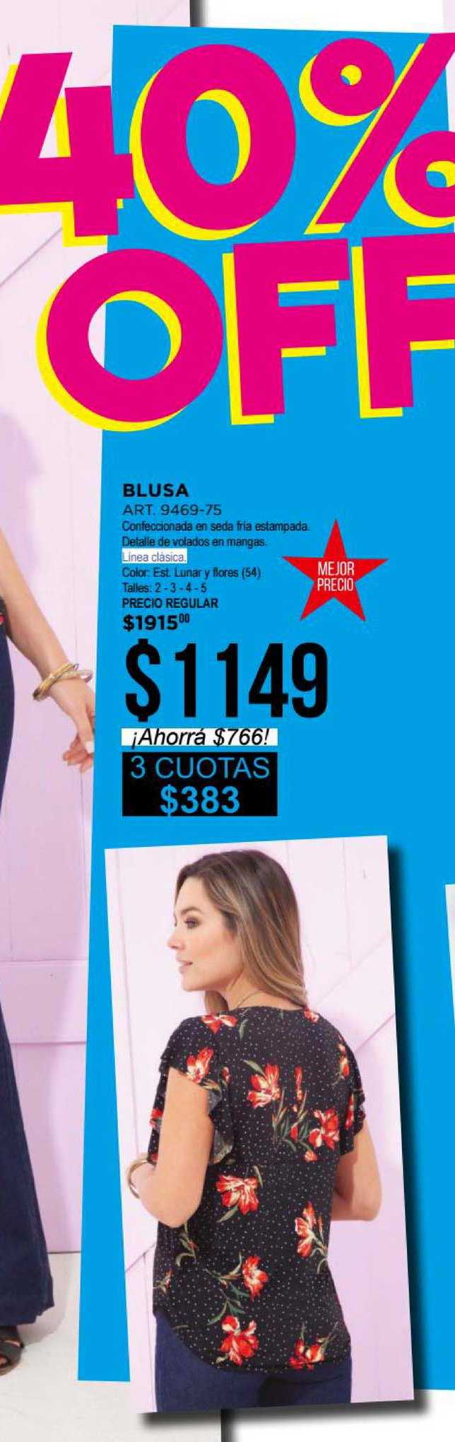 Juana Bonita Blusa ART. 9469-75