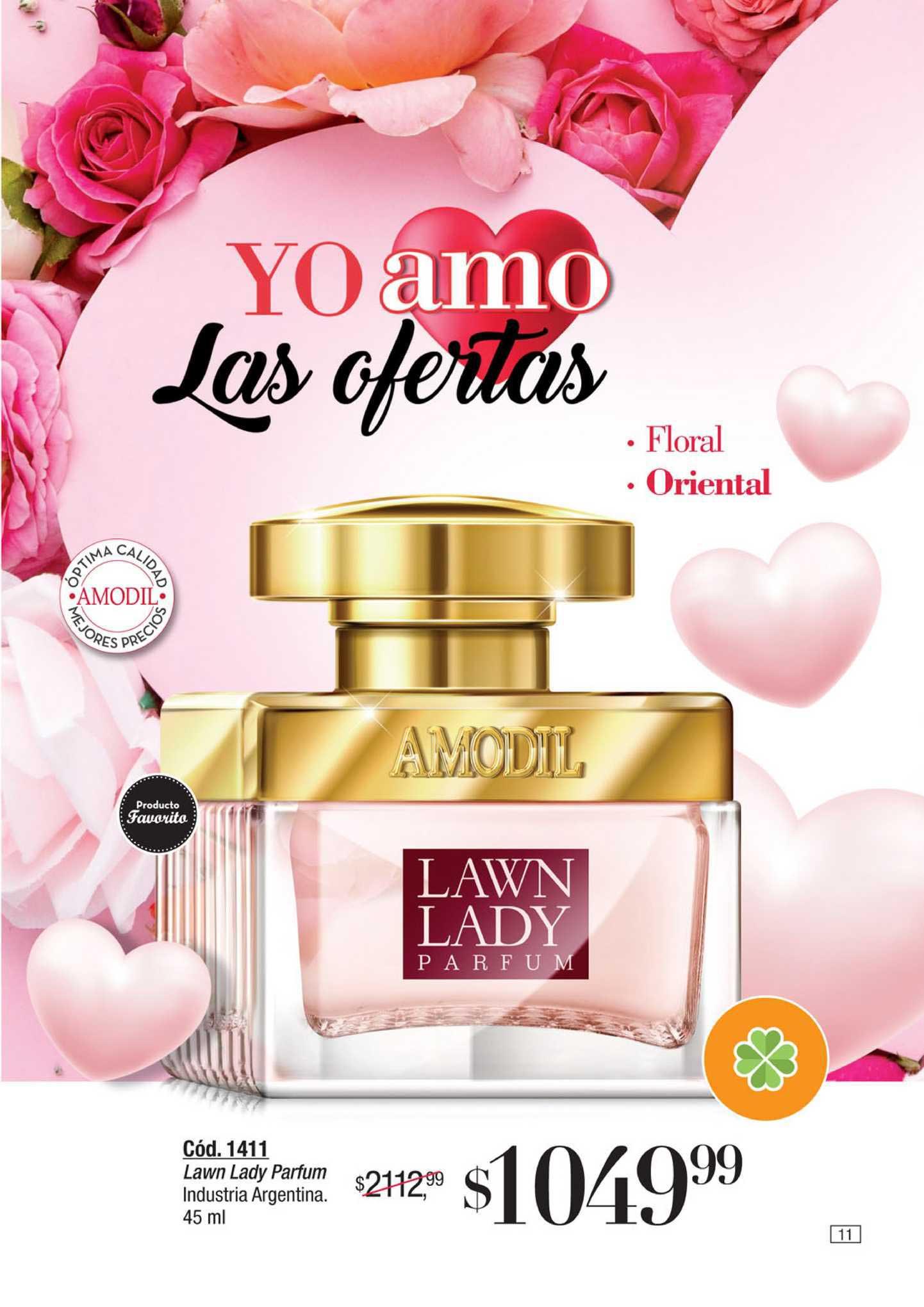 Amodil Lawn Lady Parfum