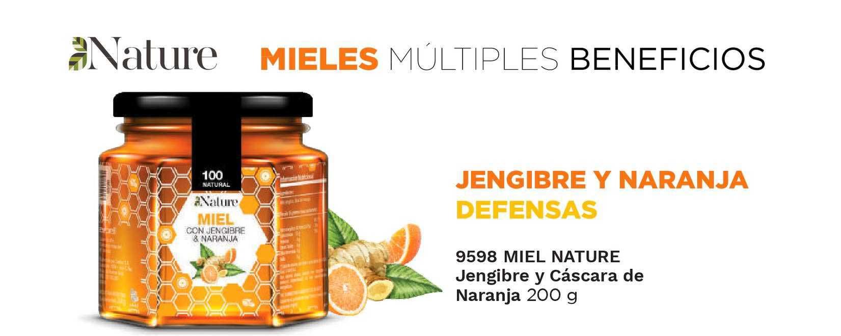 Arbell Miel Nature Jengibre Y Cáscara De Naranja