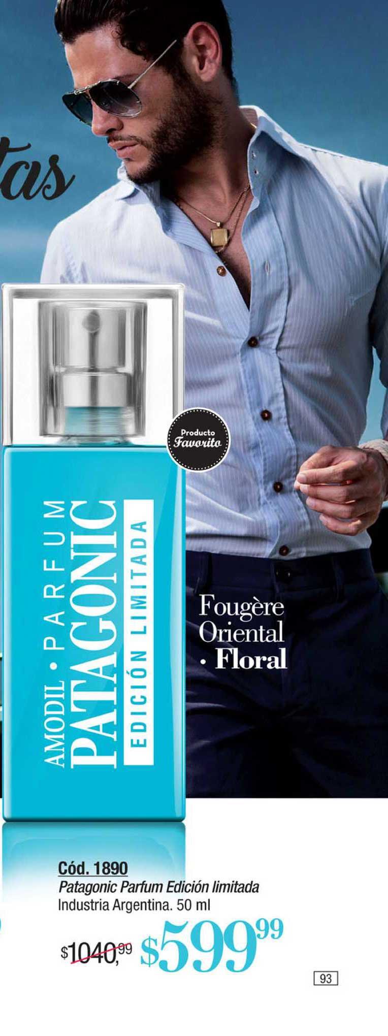 Amodil Patagonic Parfum Edición Limitada
