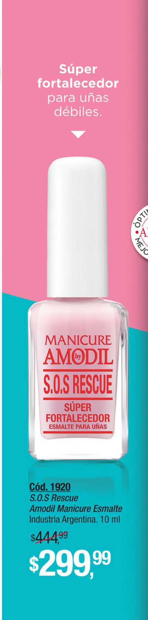 Amodil S.O.S Rescue Amodil Manicure Esmalte