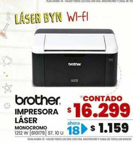 Trabuco Hogar Brother Impresora Láser Monocromo