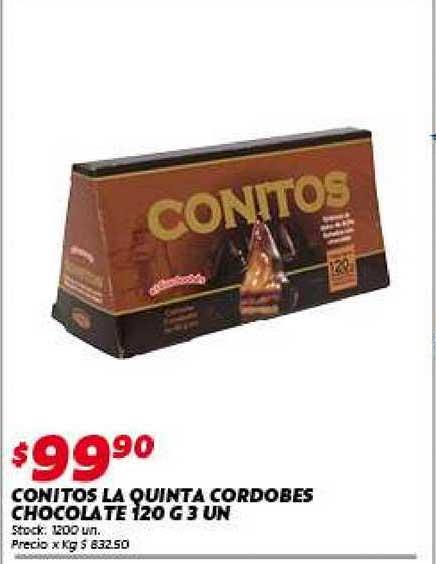 Ferniplast Conitos La Quinta Cordobes Chocolate