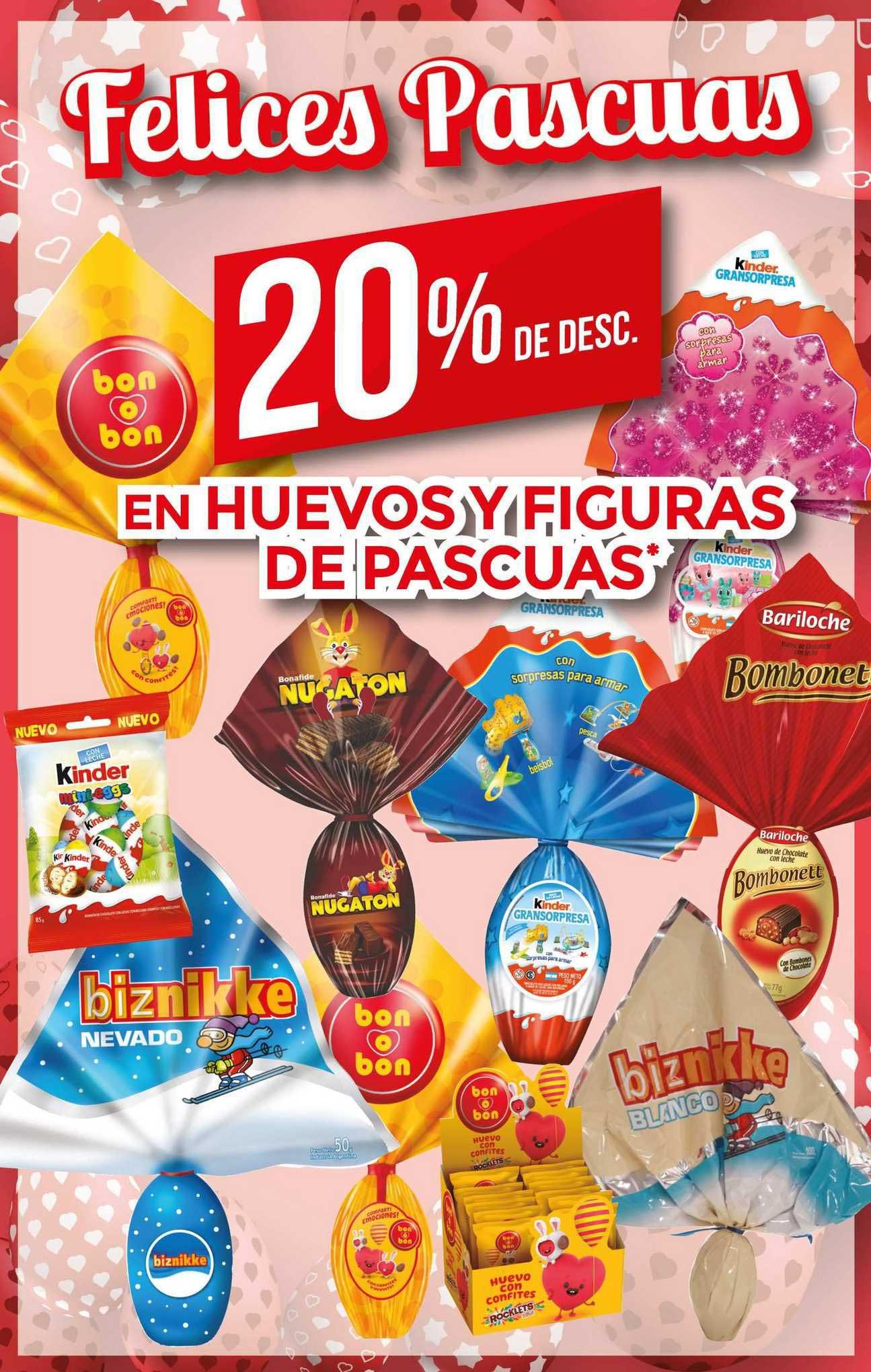 Supermercados DIA En Huevos Y Figuras De Pascuas