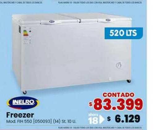Trabuco Hogar Inelro Freezer