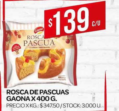 Supermercados DIA Rosca De Pascuas Gaona