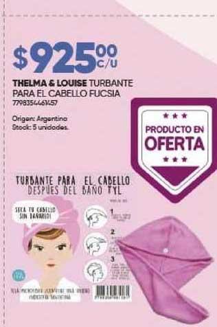 Farmavip Thelma & Louise Turbante Para El Cabello Fucsia