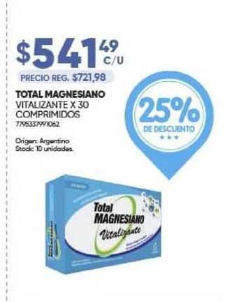 Farmavip Total Magnesiano Vitalizante