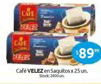 Cordiez Café Velez En Saquitos