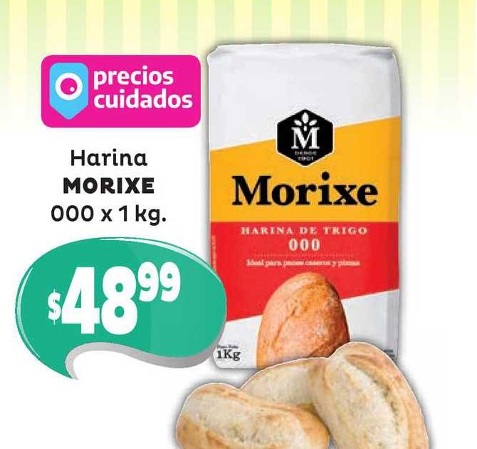 Único Supermercados Harina Morixe 000