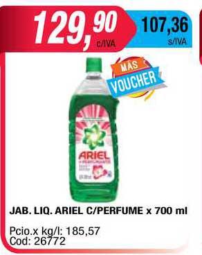 Maxiconsumo Jab. Liq. Ariel C Perfume