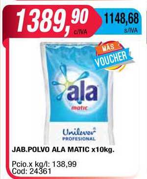 Maxiconsumo Jab. Polvo Ala Matic