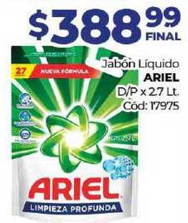 Diarco Jabón Líquido Ariel Dp