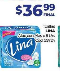 Diarco Toallas Lina Aloe Con Alas