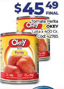 Diarco Tomate Perita Okey