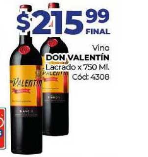 Diarco Vino Don Valentín Lacrado