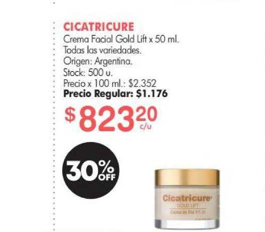 Simplicity Cicatricure Crema Facial Gold Lift X 50 Ml.