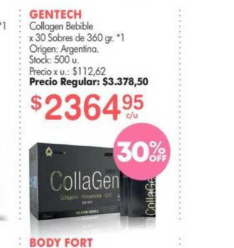 Simplicity Gentech Collagen Bebible X 30 Sobres De 360 Gr.