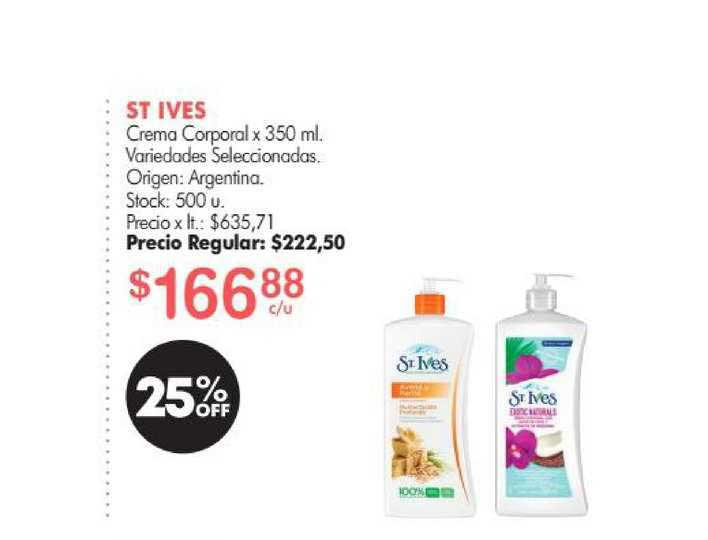 Simplicity St Ives Crema Corporal X 350 Ml.