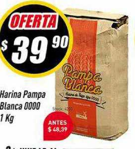Supermercados Comodin Harina Pampa Blanca 0000 1 Kg