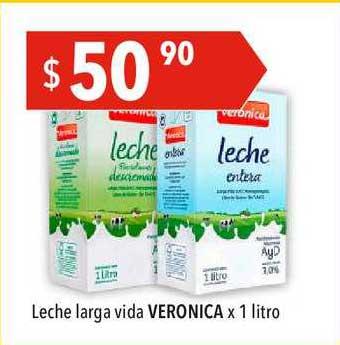 Hergo Leche Larga Vida Veronica X 1 Litro