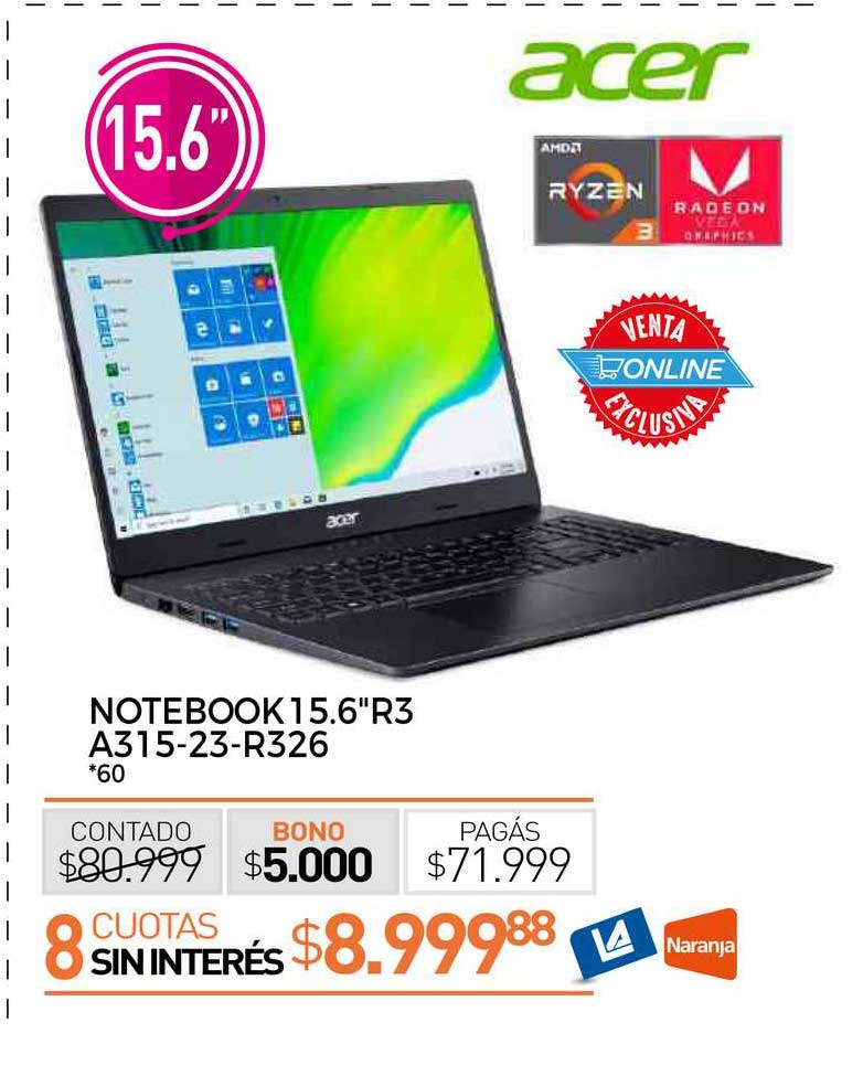 La Anónima Notebook 15.6