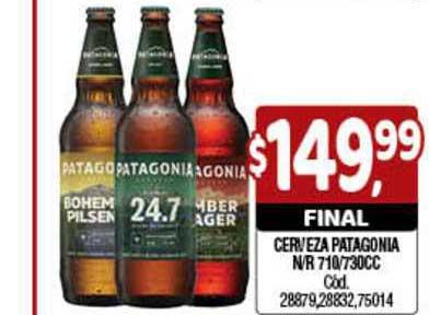 Supermercados Yaguar Cerveza Patagonia