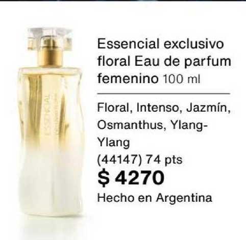 Natura Essencial Exclusivo Floral Eau De Parfum Femenino 100 Ml