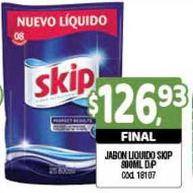 Supermercados Yaguar Jabon Liquido Skip
