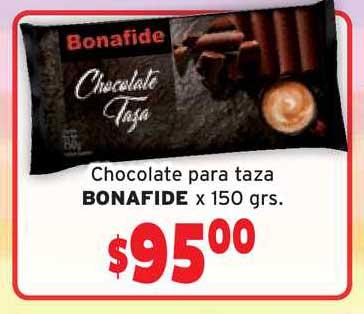 Único Supermercados Chocolate Para Taza Bonafide