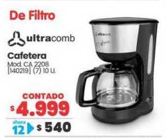 Trabuco Hogar Cafetera Ultracomb
