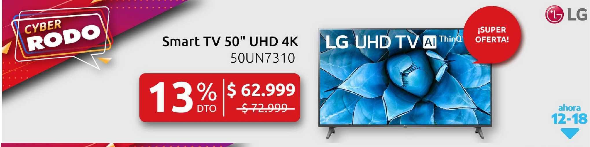 Rodo LG Smart TV 50