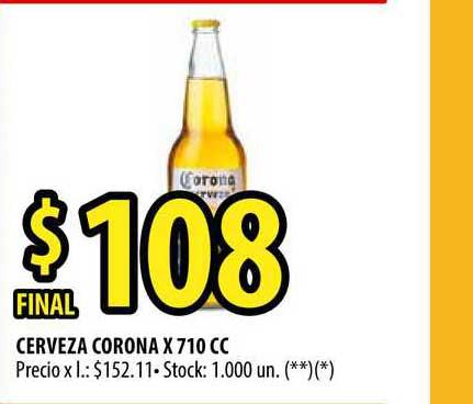 Punto Mayorista Cerveza Corona X 710 CC