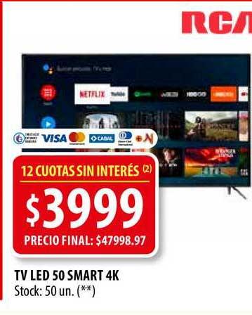 Punto Mayorista TV Led 50 Smart 4K