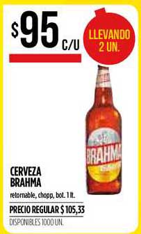 Supermercados Vea Cerveza Brahma