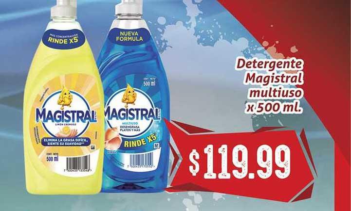 Gomez Pardo Detergente Magistral Multiuso X 500 Ml.