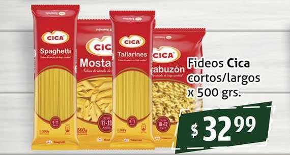 Gomez Pardo Fideos Cica Cortos-largos X 500 Grs.