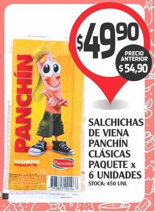 Supermercados Malambo Salchichas De Viena Panchín Clásicas Paquete X 6 Unidades