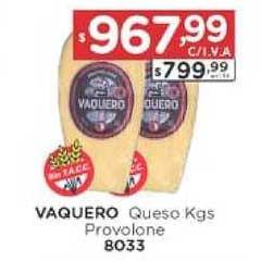 Hiper May Vaquero Queso Kgs Provolone