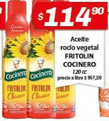 Almacor Aceite Rocío Vegetal Fritolin Cocinero