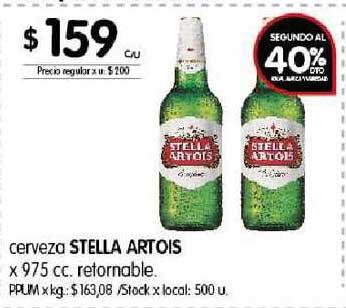 Disco Cerveza Stella Artois