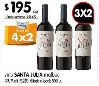 Disco Vino Santa Julia Malbec