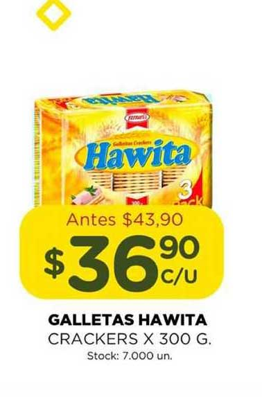 Super Mami Galletas Hawita Crackers