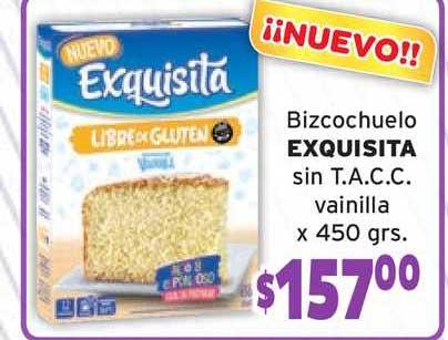 Único Supermercados Bizcochuelo Exquisita Sin T.a.c.c. Vainilla
